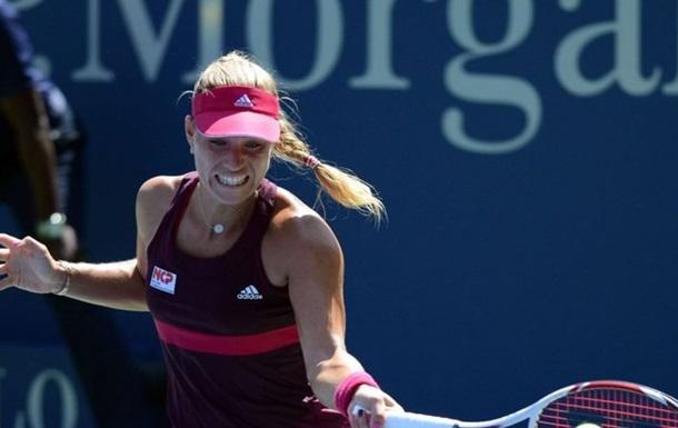 Кербер самая возрастная теннисистка, взобравшаяся на вершину рейтинга
