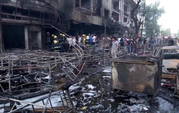 Число жертв терактов в Багдаде выросло до 40