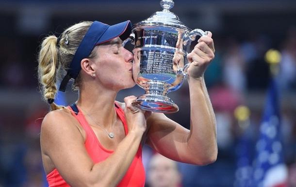 Анжелик Кербер - победительница US Open-2016