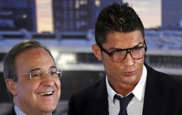 Роналду: На месте Переса подписал бы с собой контракт на десять лет