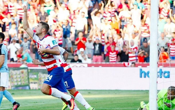 Артем Кравец забил в своем дебютном матче за испанскую Гранаду