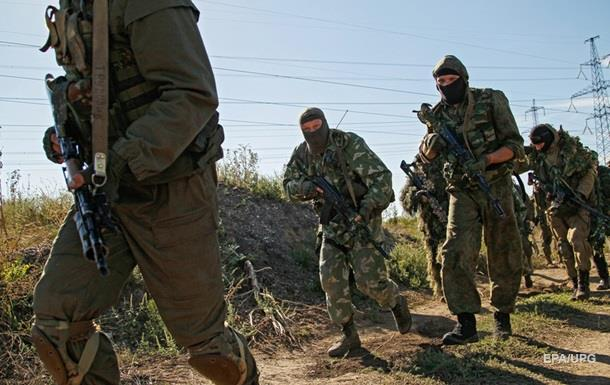 Военных обстреляли из запрещенного оружия - штаб