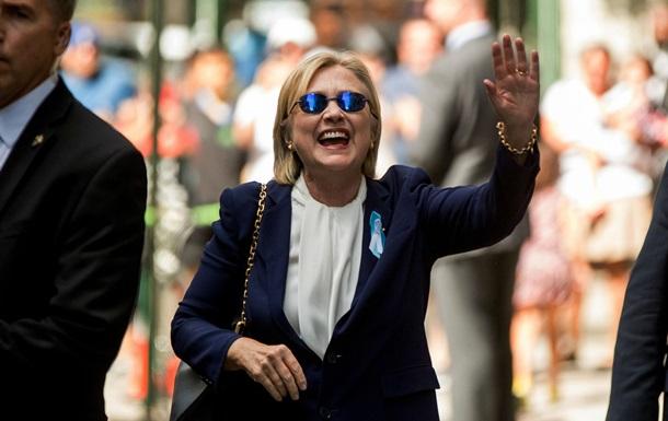 WP: Здоров я Клінтон стало проблемою її кампанії