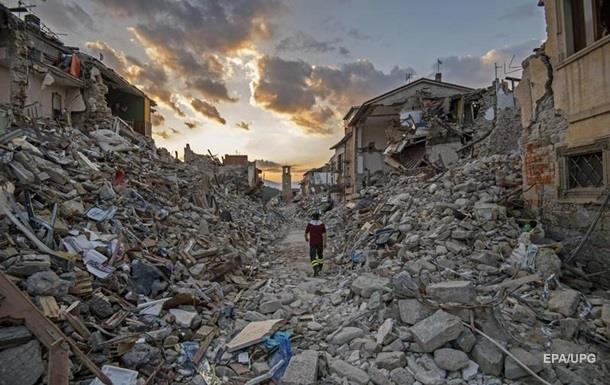 Зруйноване землетрусом Аматриче позивається проти Charlie