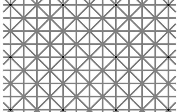 12 точек? В сети спорят над оптической иллюзией