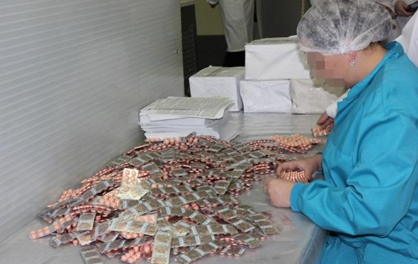 СБУ завела дело за производство лекарств в Горловке