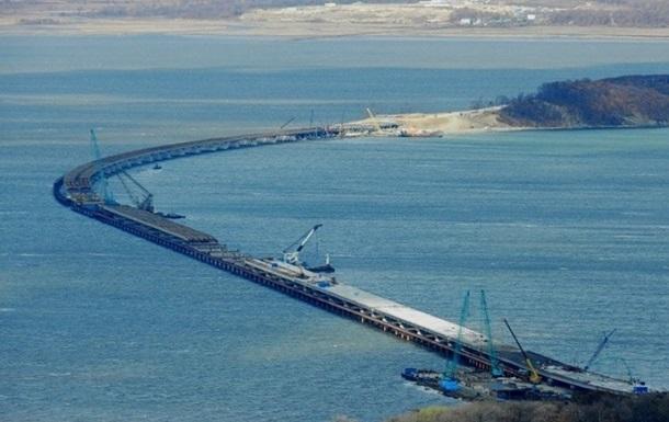 В Керчи заявили о завершении третьего рабочего моста