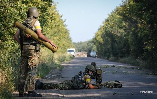 Сутки в АТО: один военный погиб, один ранен