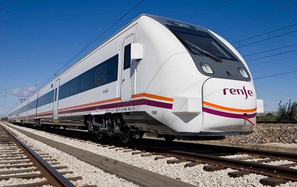 В Іспанії машиніст зупинив поїзд на півдорозі через закінчення зміни