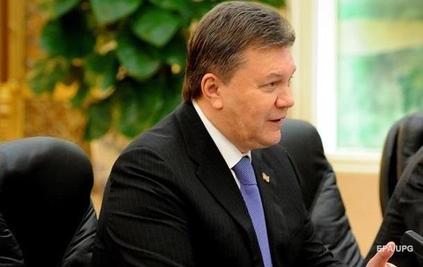 Янукович закликав ЄС зняти з нього всі санкції