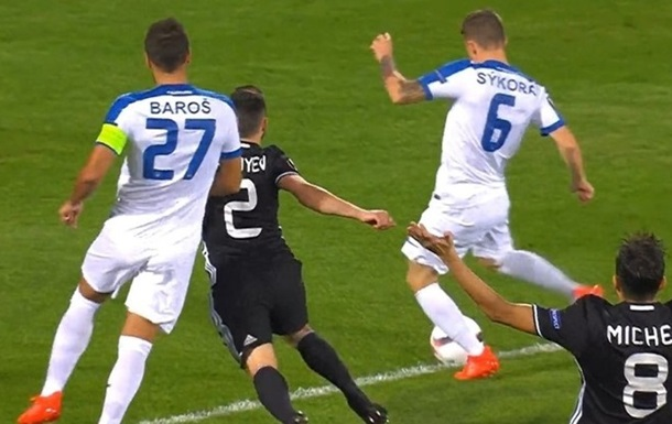 Лига Европы. Карабах вырывает ничью со Слованом