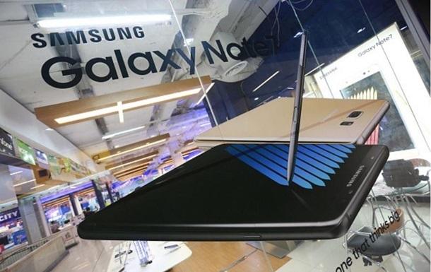 В США будет отозвано около миллиона взрывоопасных Samsung Galaxy Note 7