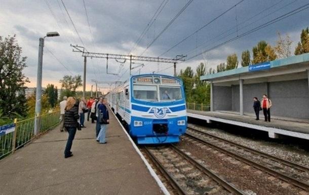 В Киеве с 23 по 30 сентября будет изменено движение городской электрички
