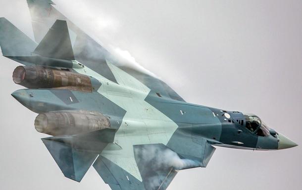 Росія прогнала гармату новітнього винищувача Т-50