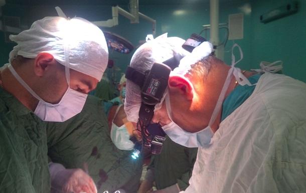 В Киеве врачи провели уникальную операцию на сердце