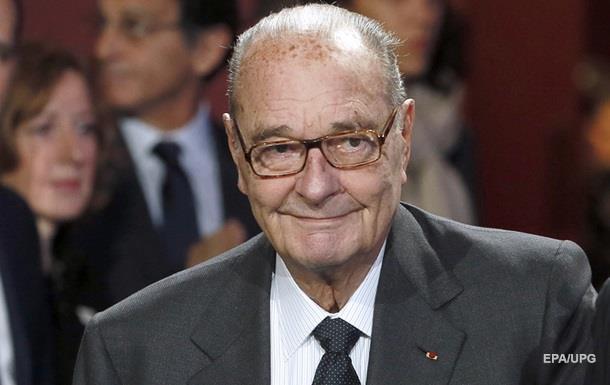 Госпіталізовано екс-президента Франції Ширака