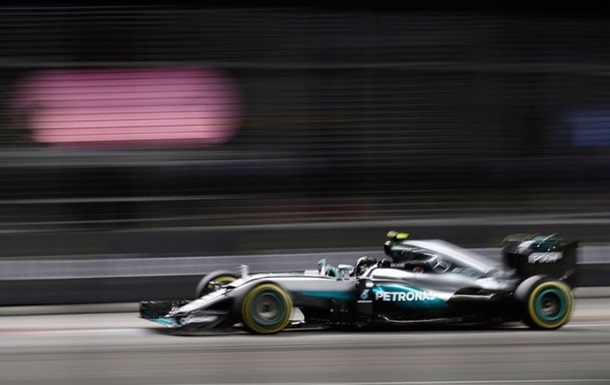 Формула-1. Гран-при Сингапура. Росберг побеждает на трассе  Марина Бей