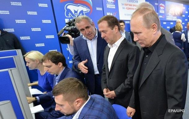 Партія Путіна отримає три чверті місць у Думі