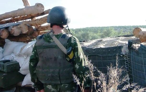 За сутки позиции сил АТО обстреляли 18 раз – штаб