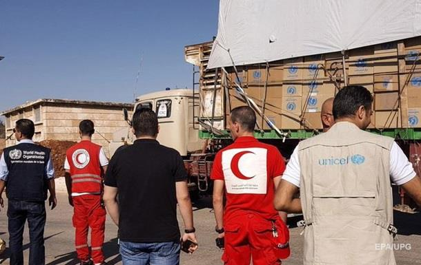 РФ нашла виновного в уничтожении гумконвоя в Сирии
