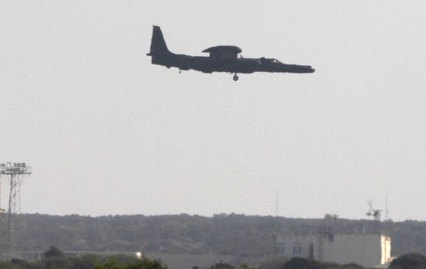 В США разбился самолет времен холодной войны