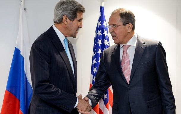Лавров и Керри провели переговоры по Сирии