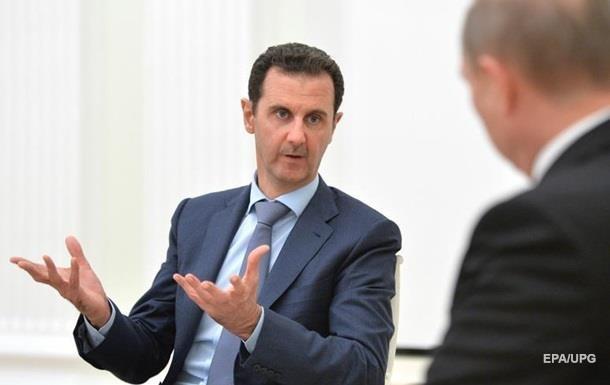 Асад назвав неможливою взаємодію Росії і США