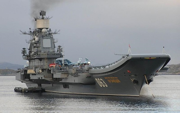 РФ направит к Сирии крейсер с полным авиакрылом