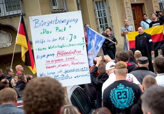 Федеральний уряд незадоволений самозахистом східних німців