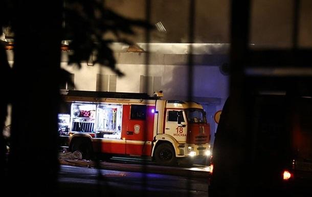 На пожежі в Москві загинули вісім рятувальників