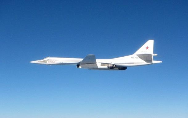 Британські винищувачі перехопили два російські бомбардувальники