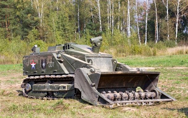 В России показали в действии робота-сапера