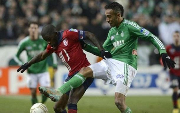 Ліга 1. Сент-Етьєн впевнено обіграв Лілль