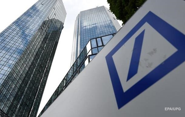 Акції Deutsche Bank впали до історичного мінімуму
