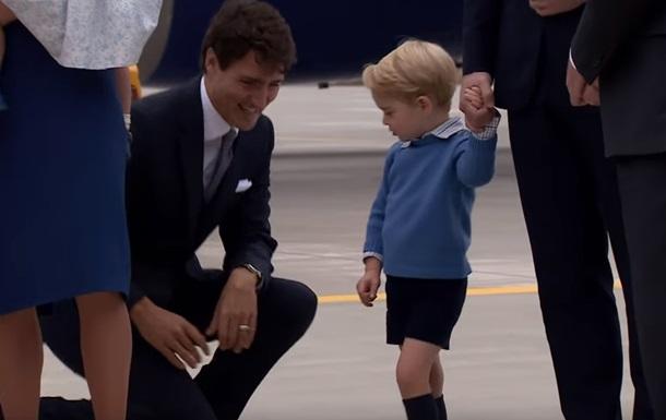Принц Джордж відмовився вітатися з прем єром Канади