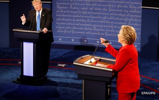 Дебати у США: кандидати сказали про робочі місця й ІДІЛ