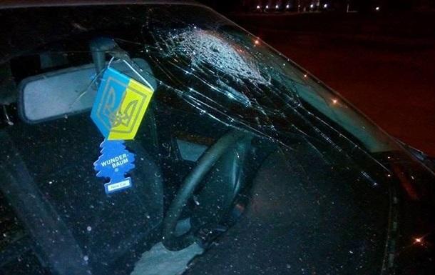 В Луцке пьяный военком разбил стекло авто головой - СМИ