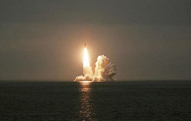 Російська ракета Булава самоліквідувалася в польоті