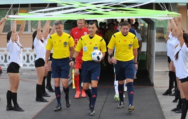 Украинский арбитр будет работать на матче отбора к ЧМ-2018