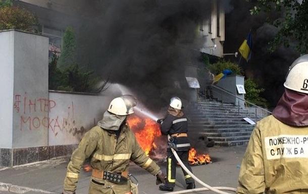 Глава МВД не исключил версию самоподжога в здании  Интера