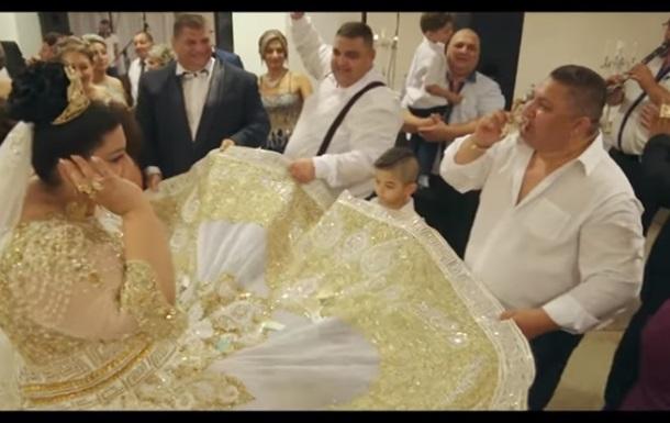 Надмірно розкішний весільний кліп здивував мережу