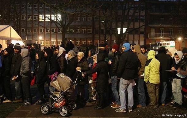 Німеччина скоригувала дані по біженцях