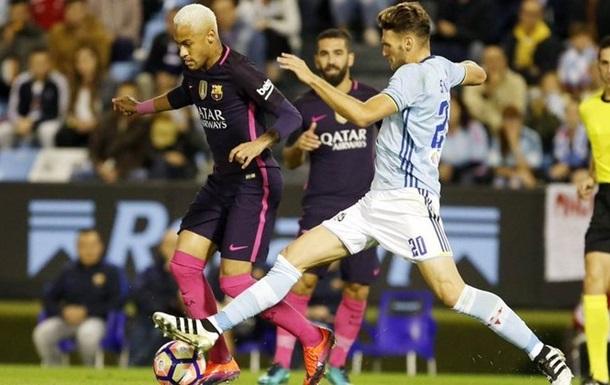 Примера. Барселона забивает трижды, но уступает Сельте