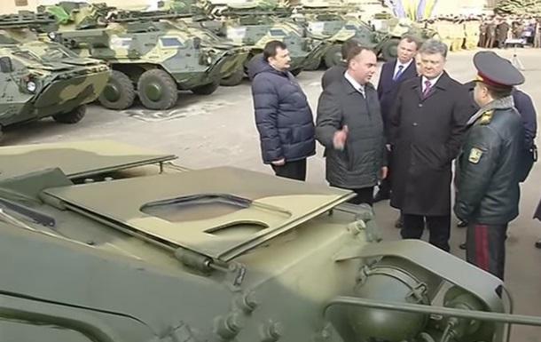 Порошенко передав у зону АТО браковані броньовики - Савченко