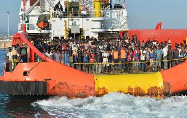 У Середземному морі за один день врятували понад шість тисяч мігрантів