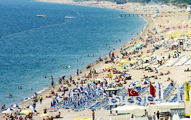 Турпотік з України до Туреччини зріс на 55%