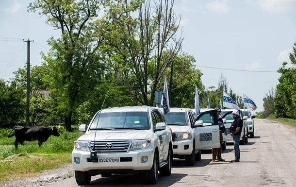 ОБСЕ не удалось попасть в район разведения сил