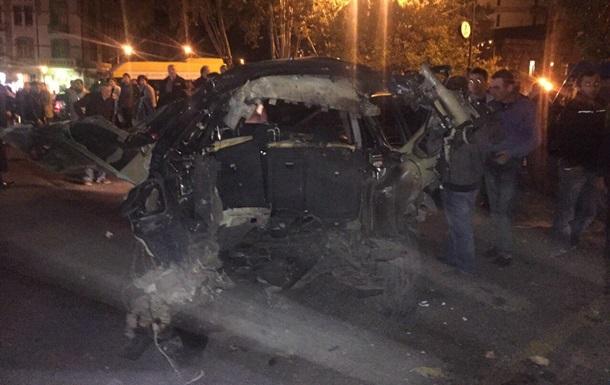 В Грузии взорвали автомобиль соратника Саакашвили