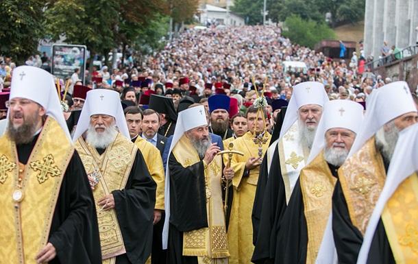 УПЦ МП готовит массовые протесты в Киеве