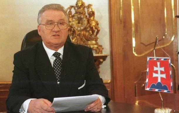 Помер перший президент Словаччини